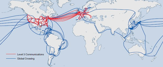 LVLT/GLBC combined map - Telecom Ramblings