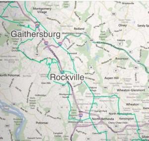 Fibertech Maryland Map