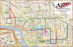AiNet DC Metro Map