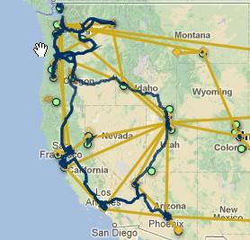 Integra Network Map