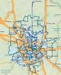 Zayo Minneapolis Network Map