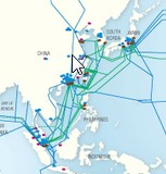 Pacnet China network map