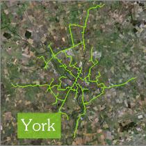 York footprint