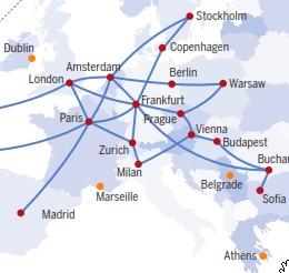 Hurricane Electric network map