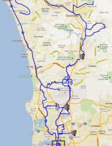 Zayo San Diego metro map