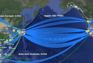 NTT Pacific Network Map