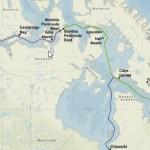 Arctic Fibre Network Map