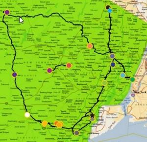 Cross River Fiber Map