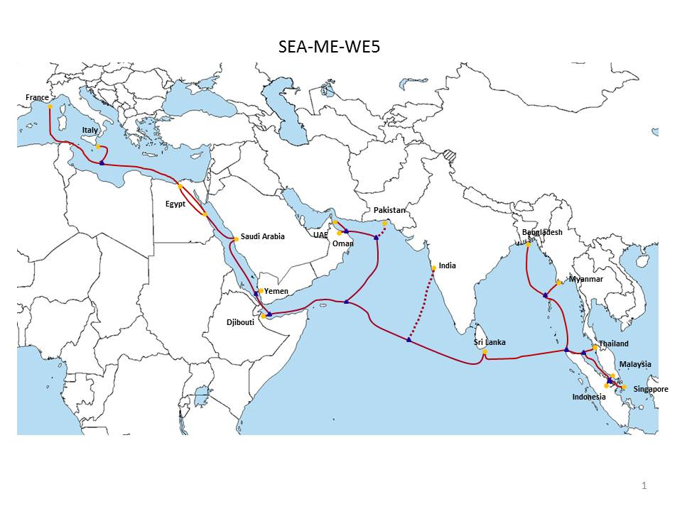 Construction Begins For SEA-ME-WE 5 | Telecom Ramblings