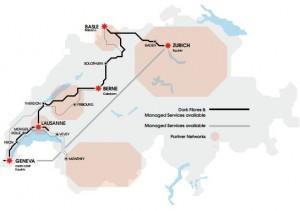 Fiberlac network map