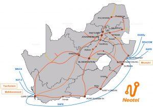 Neotel-fibre-map