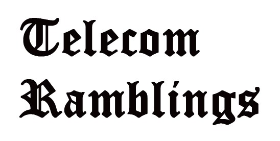 e351330fc7 Telecom Ramblings - News
