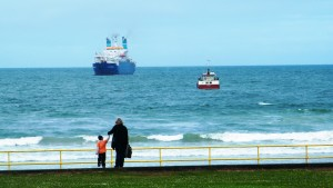 Cable Ships off of Portrush, Northern Ireland